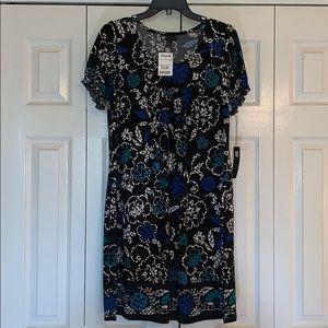 NWT Black and blue Carole Little dress